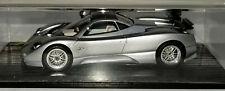 Spark Models 1/43 Silver Pagani Zonda C12 7.3S Black Boxed #SPZP01