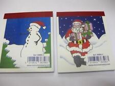 24 x CHRISTMAS NOTEBOOK SANTA PARTY BAG WHOLESALE JOB LOTS SHOP CRAFT ARTS