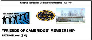 "NCC ""Friends of Cambridge"" Membership - Patron Level"