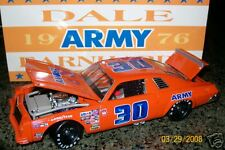 Dale Earnhardt 1976 #30 ARMY CHEVY MALIBU 1/24 Action