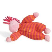 North Amerian Bear Co. Unicorn Rattle Pink Orange Sleepyhead Stuffed Animal NEW