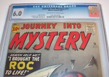 CGC 6.0 JOURNEY INTO MYSTERY #71 Stan Lee ROC Aug. 1961