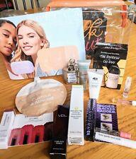 ~ Lot~Ulta Gift Bag With 12 High End Fragrance Samples,Mascara,Face Mask, Primer