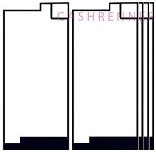 5x Deckel Kleber Akkudeckel Adhesive Sticker Frame Sony Xperia XA1