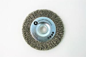 Drahtbürste Bürste Reinigungsscheibe passend für Bosch GWS 10,8 12V 76 Zubehör