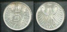 DEUTSCHLAND 1961 F - 5 DM in Silber, vz - SILBERADLER