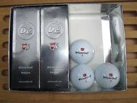 Golfbälle 9 x Wilson Staff * 8 x Dx2 Distance, 1 x Px3 Soft Golfball * NEU *