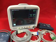 GE Patient Monitor Dash 4000 ECG NIBP SPO2 New Access 1 Yr Warraty Recorder