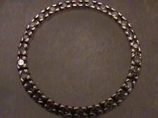 Beautiful 10k White Gold Circle Diamond Pendant