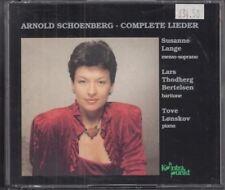 Complete Lieder. Schoenberg : Suzanne Lange
