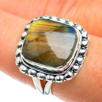 Labradorite 925 Sterling Silver Ring Size 8 Ana Co Jewelry R43556F