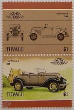 1932 FORD V-8 Car Stamps (Leaders of the World / Auto 100)