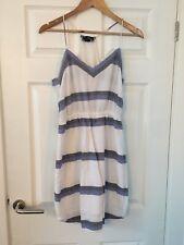 H & M Striped Dress Size 12