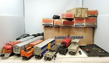Lionel Vintage Postwar 2281W Santa Fe Freight Set With Original Boxes