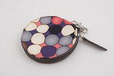 "Tyler Rodan Cosmetics Bag Zipper (G4R) 4.25"" Abstract Circles"