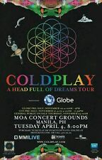 Coldplay Platinum Ticket