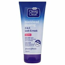 3x Clean & Clear Blackhead Clearing 2-in-1 Wash and Mask 150ml