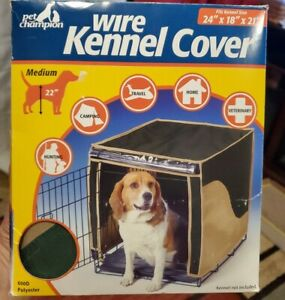 "Wire Kennel Cover by Pet Champion 24""L x 18""W x 21"" H - NEW"