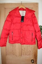 Feraud Red Padded Women Jacket Limited Edition Size 16 BNWT