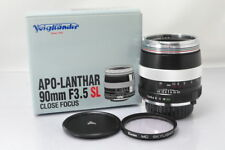 [MINT++]Voigtlander Apo-Lanthar 90mm F/3.5 SL MD Lens w/Box #2901