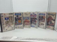 Sega Saturn Lot of 6 Sports Games