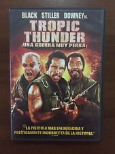 TROPIC THUNDER UNA GUERRA MUY PERRA - 1 DVD + MATERIAL EXTRA 102 MIN BUEN ESTADO