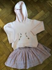 Stunning MONSOON & LAURA ASHLEY Lambswool Set / Outfit AGED 6-7-8