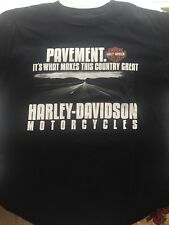 HARLEY DAVIDSON MOTOR CLOTHES T-shirt, Slidell LA, Mens Size Medium