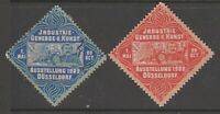 Germany  -Cinderella- revenue stamp 3-17-21 no gum