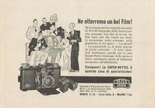 Z1013 Zeiss Ikon SUPER NETTEL - Pubblicità d'epoca - 1934 Old advertising
