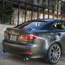 Painted Color For Lexus IS250 IS350 Sedan IS F Type Rear Boot Trunk Spoiler Wing