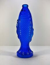 Colored Glass Fish Bottles / Collectibles By Backwoods Lighting LLC