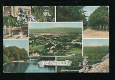 Glos Gloucestershire CHELTENHAM M/view Novelty Pocket PPC Dainty Series