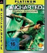 PLAYSTATION 3 UNCHARTED Drakes destino PLATINUM Essential guterzust.