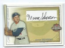 2003 Fleer Fall Classic Moose Skowron All American Collection Auto /150 Dodgers