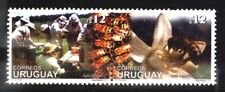 URUGUAY 2001 FAUNA INSECTS BEES  Yv 1980-1 MI 2620-1 MNH