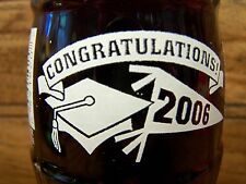 CLASS  OF  2006,  [ CLASS  OF  2006  is on the neck ]  1 - 8 Oz Coke Bottle