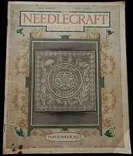 Needlecraft Magazine November 1923 NEEDLEWORK - FASHIONS - CREAM OF WHEAT AD