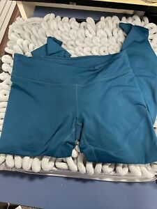 Fabletics Ankle Leggings Size Small Green 27 Inch Waist