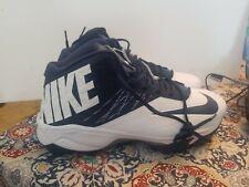 Nike Zoom Code Elite Pro Shark Football Cleats Style 604619-140 Size 17 Wide