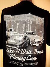 Classic Muscle Cars T-shirt Kentucky Shirt L