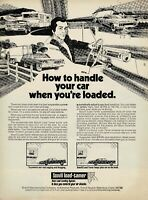 How to Handle your car when you're loaded, Scovill load-tamer Ad 1973