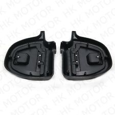 Latching Glove Box Doors & Casings Lower Vented Fairing for Harley Touring 97-13