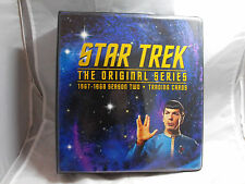 STAR TREK THE ORIGINAL SERIES SEASON 2 COLLECTORS BINDER