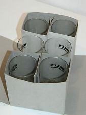 BELL'S VINTAGE 40cl lot 6 VERRE à SCOTCH WHISKY GLAS GLASS