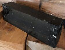 Jet Black Ebony Wood Lumber 5x1.5x1 Project Wood Knife Scales Guitar Bridges