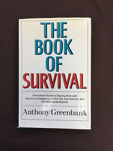The Book Of Survival by Anthony Greenbank 1968 HCDJ