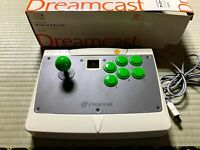 SEGA Dreamcast Official Arcade Stick in Original Box DC HKT-7300 Japan / DHL