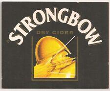Strongbow Cider - Bierdeckel Logovariation 2
