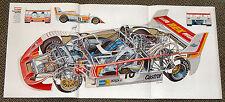 Rex SP1 racing - Harald Ertl - Schnittzeichnung Röntgenbild 1976 - cutaway view